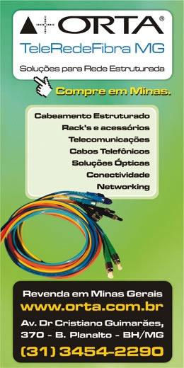 ORTA TeleRedeFibra MG : Soluções para Rede Estruturada
